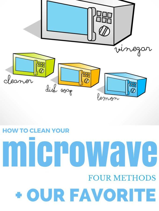 We tested four popular methods for cleaning your microwave to determine which we liked best and why. Thankfully, our favorite was also one of the all-natural versions! Now you can clean your microwave the easy way!