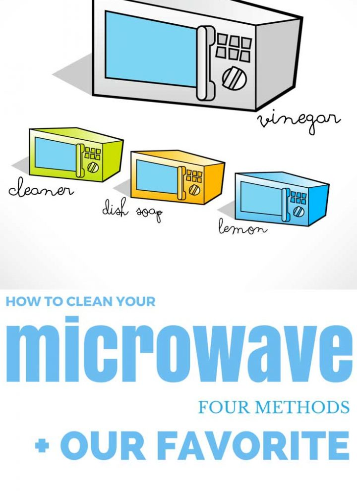 How to clean your microwave: 4 methods