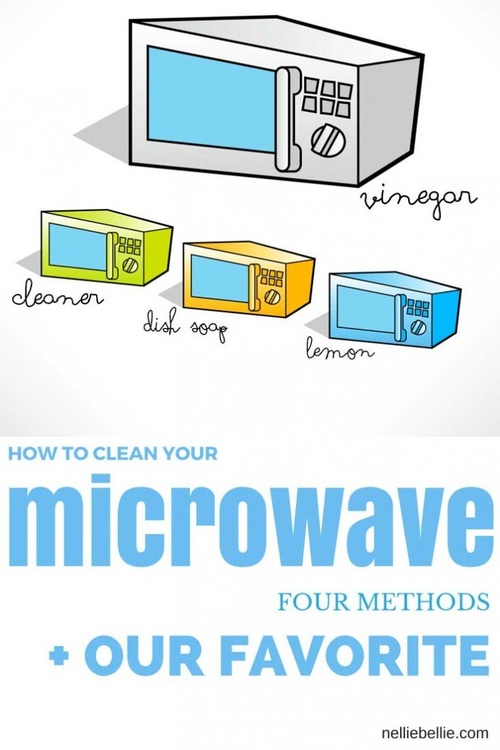 clean your microwave a nelliebellie how to. Black Bedroom Furniture Sets. Home Design Ideas
