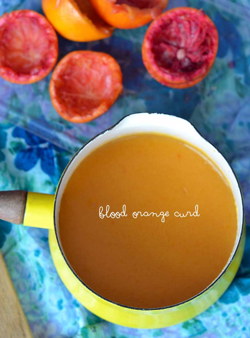 My solution: blood orange curd. I make a delicious curd that allows me ...