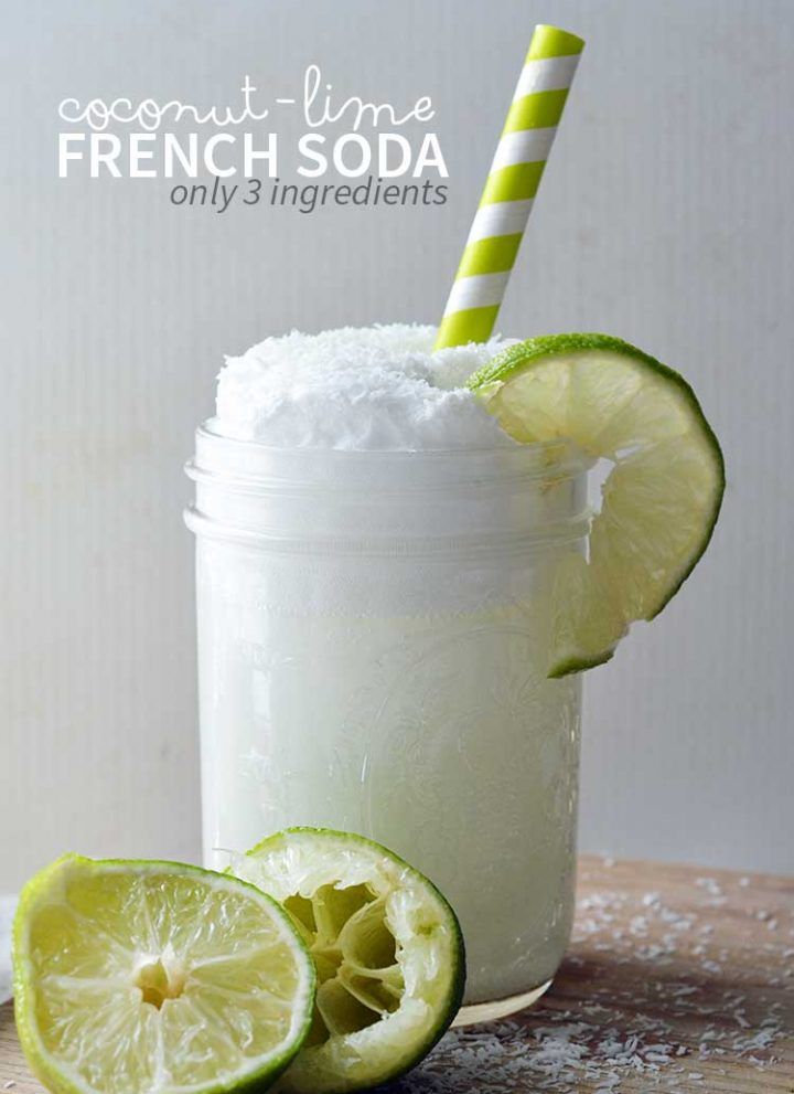 Lime French Soda