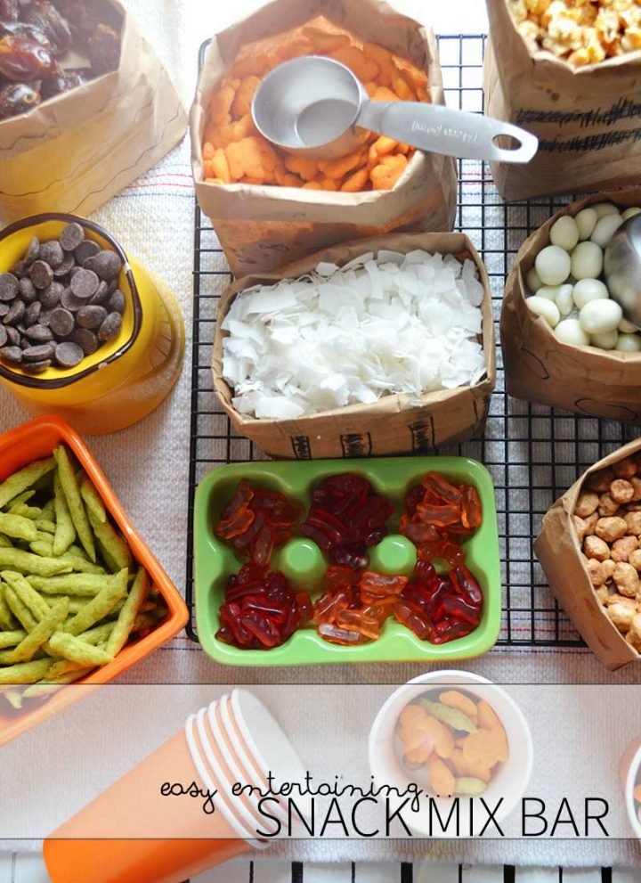 How to build an epic snack mix bar