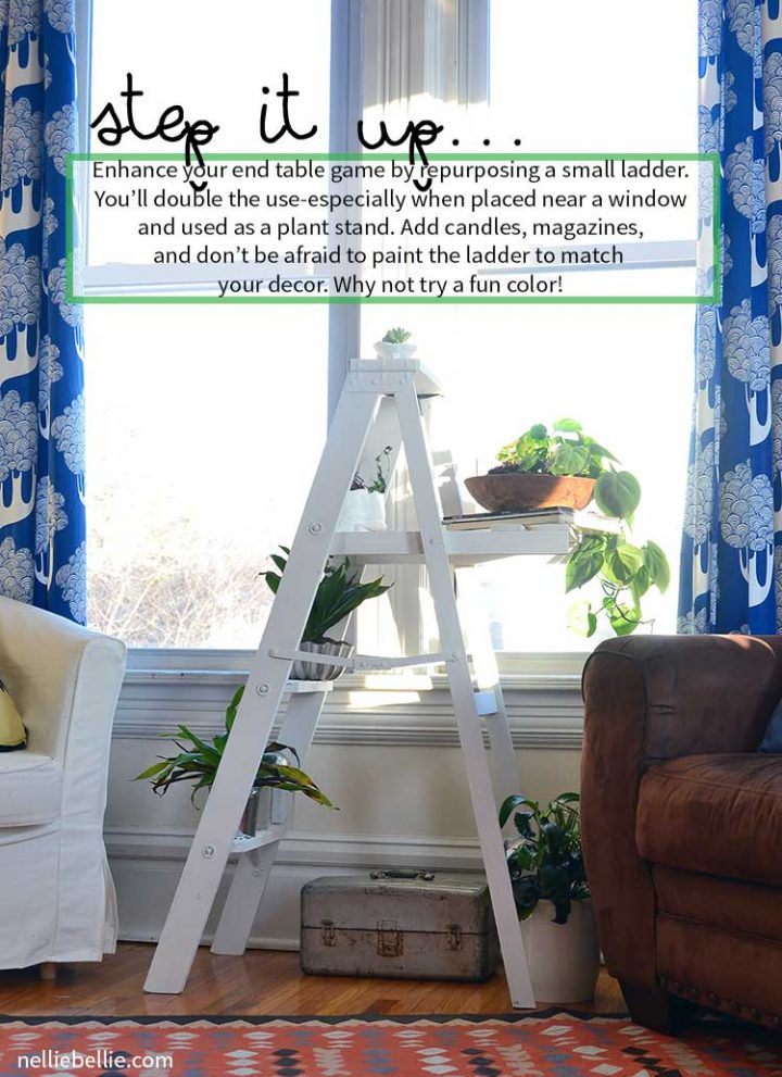 Step it Up [new use for your ladder]