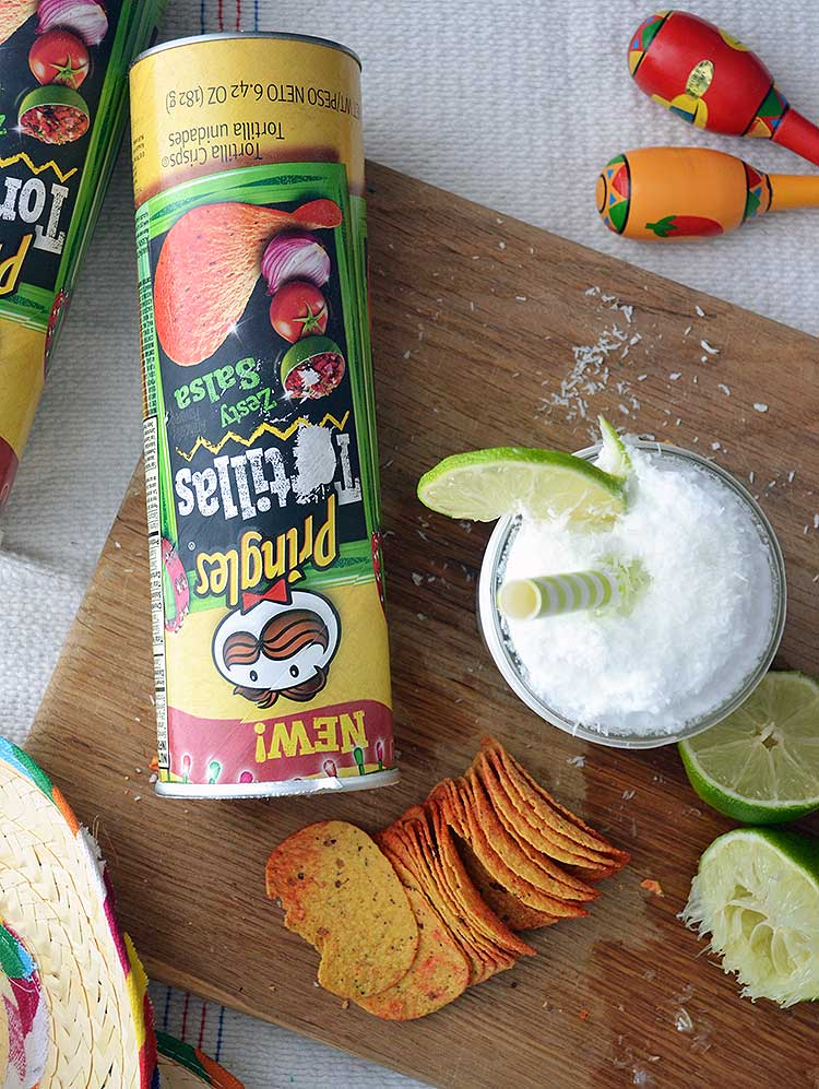 French sodas are incredibly easy to make, and are a refreshing drink for anytime. This coconut and lime french soda is absolutely delicious! Pair it with some delicious Pringles® and you've got a great snack! #PringlesAirDip #ad