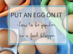 "Does the ""put an egg on it"" trend work for everyday people? And why do bloggers love adding eggs to dishes?"