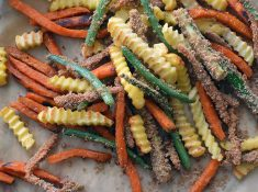 How to make baked veggie fries your family will love