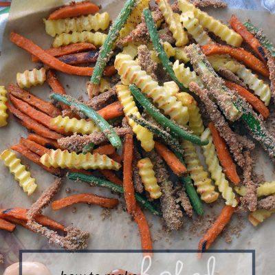 easy baked veggie fries