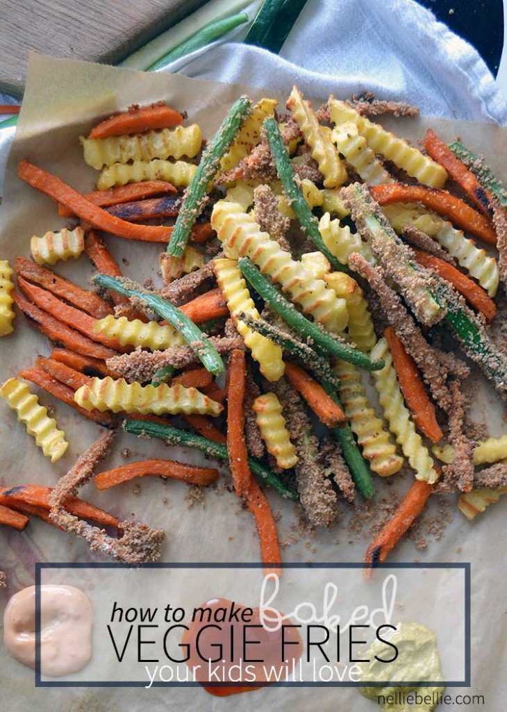 How to make baked veggie fries your family will love! #SpringIntoFlavor #ad