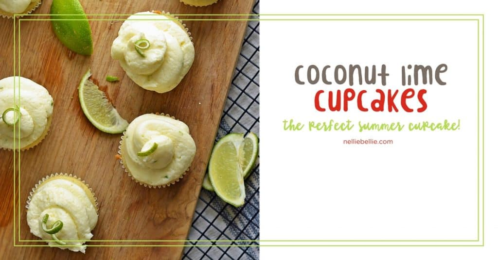 Coconut Lime Cupcake Recipe | Coconut Cake with Lime frosting