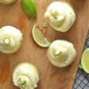 Coconut lime cupcake recipes is the perfect summer time cupcake!