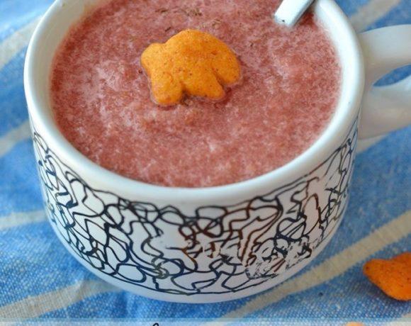 Easy Gazpacho recipe. a Gluten-free summer soup recipe! #GoldfishTales