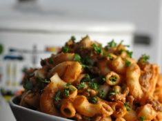 Goulash is a traditionally Minnesotan meal, perfect for nights when you don't have a ton of time!