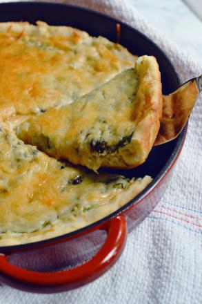 gluten-free-parmesan-spinach-pizza