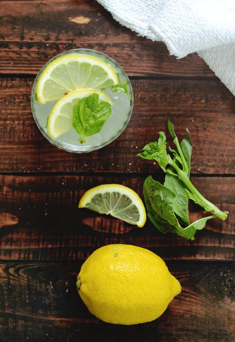 how to make lemon gin