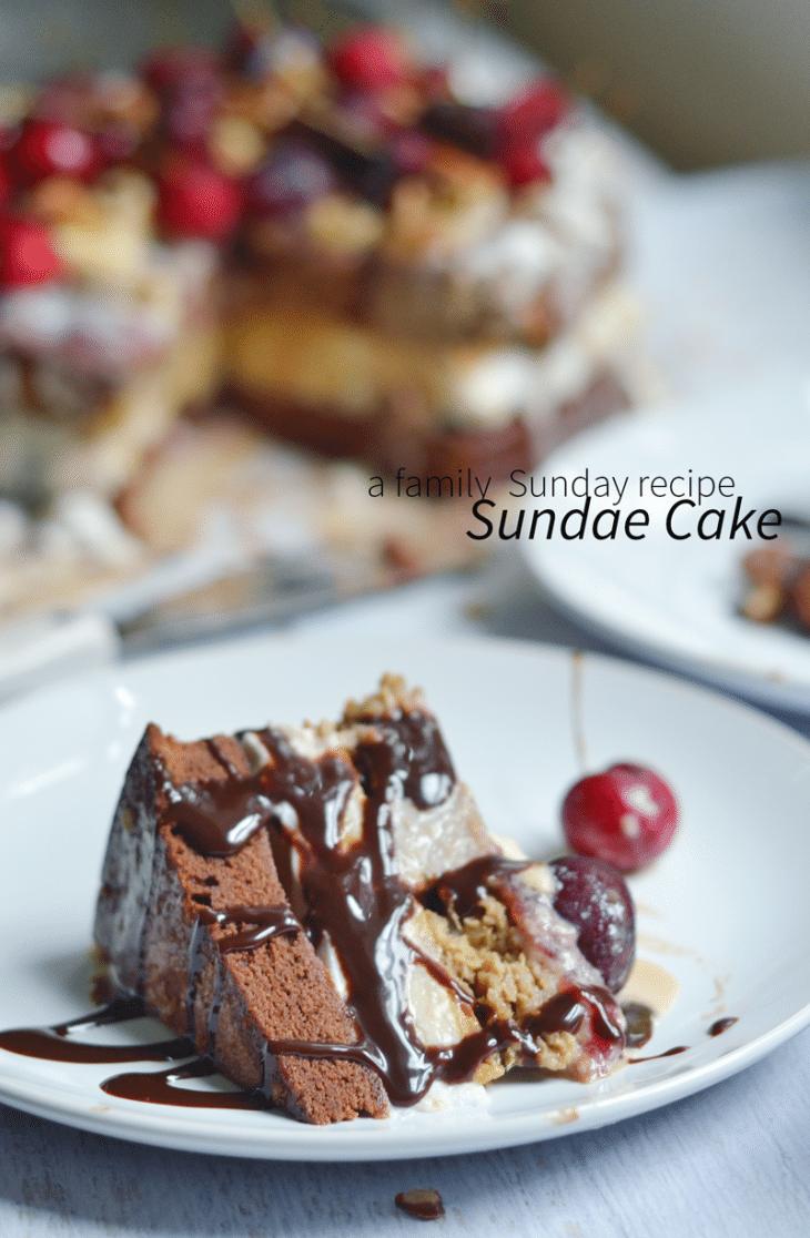 Sundae-Cake