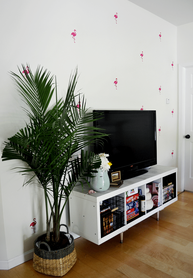 flamingo wall decals from Urban Walls.