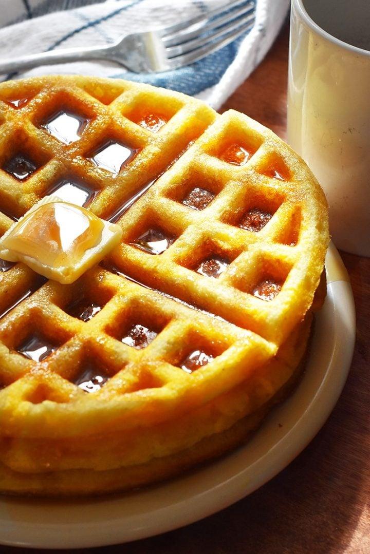 Jiffy cornbread waffles