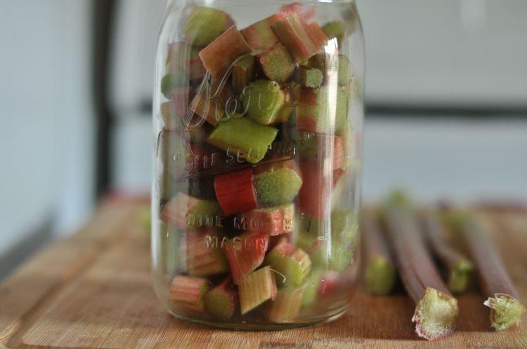 Pickled Rhubarb