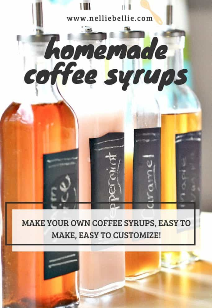Homemade Flavored Syrups