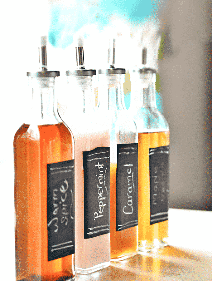 Homemade Flavored Coffee Syrups