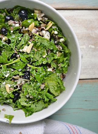 kale-wild-rice-goat-cheese-salad