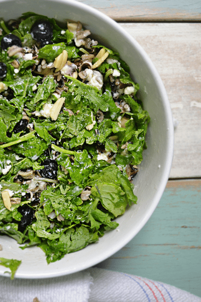 Kale Wild Rice Salad and Simple Chicken Noodle Soup Recipes