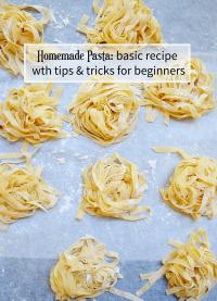 how to make homemade pasta