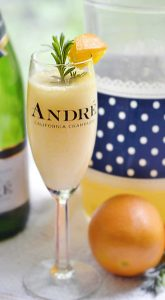 Lavender Mimosa cocktail – by the pitcher