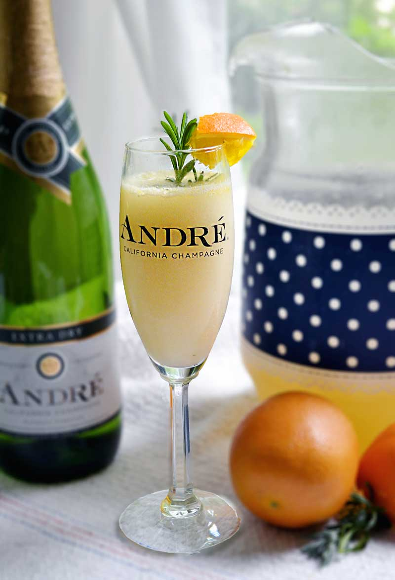 Lavender Mimosa Recipe A Mimosa Recipe For A Pitcher