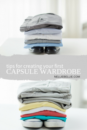 Tips for creating your first capsule wardrobe.