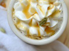 Caramel Cardamom Latte