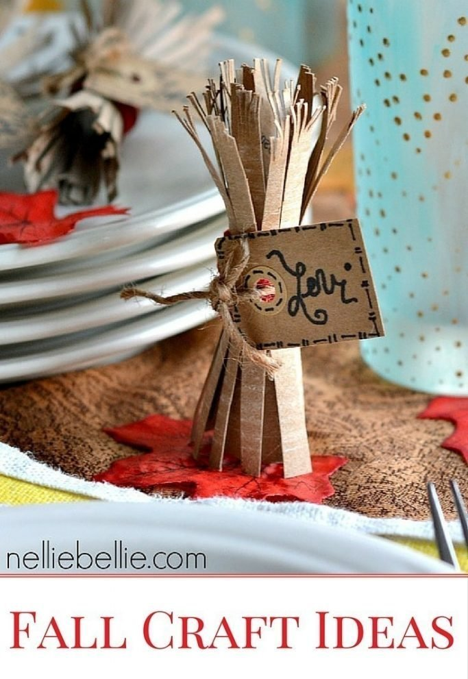Fall Crafts   Ideas for your weekend!