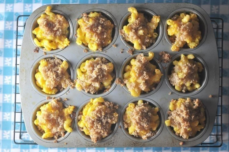 Mac and Cheese Cupcakes