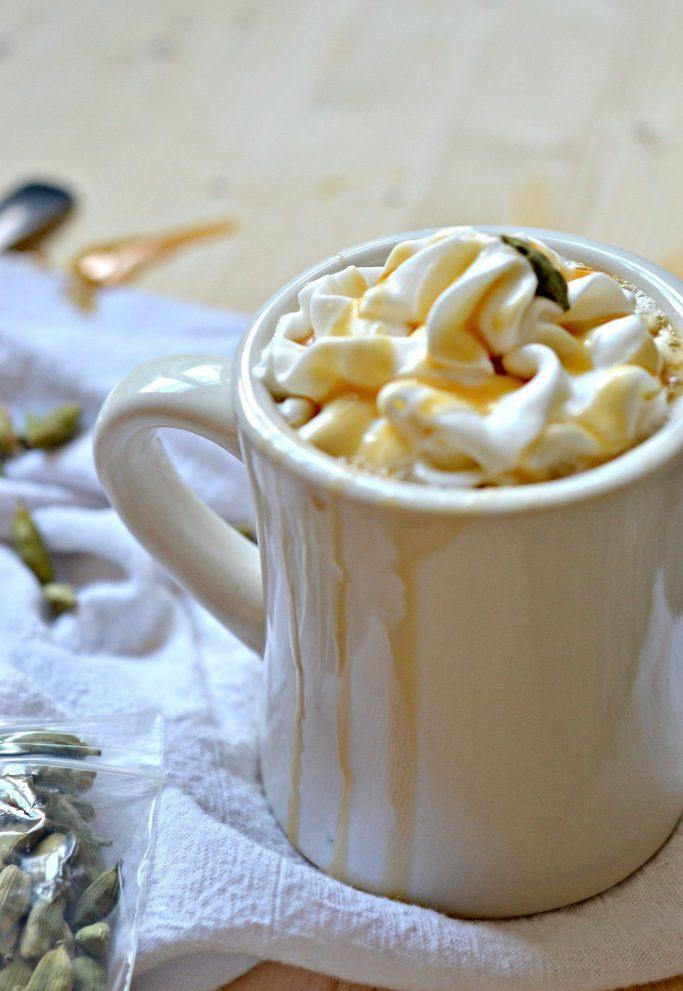 Cardamom Caramel Latte Recipe