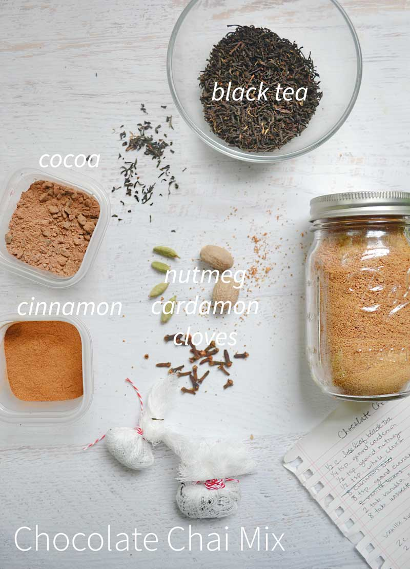 Chocolate Chai Mix. Perfect for fall!
