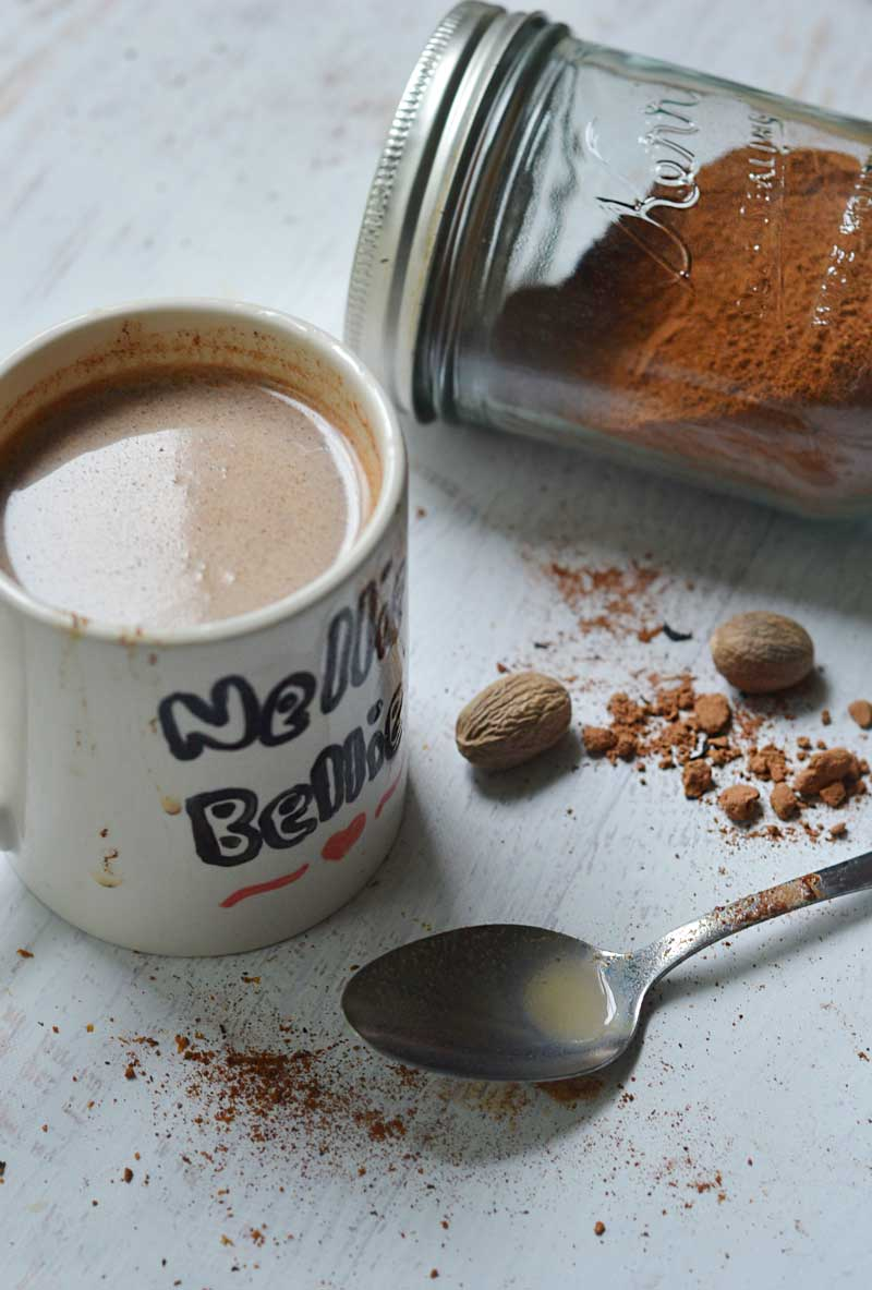 Chocolate Chai Mix. An easy recipe for a delicious at home Chai with a touch of chocolate!