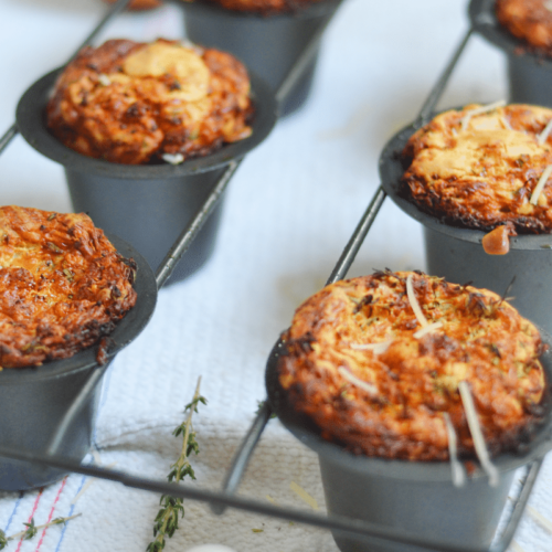 Herb and Cheese popovers