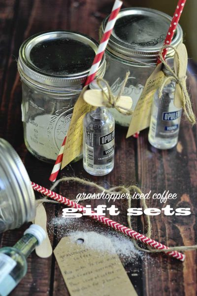 Iced Coffee Cocktail gift set