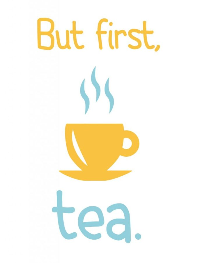 But first, tea. Free printable on nelliebellie.com