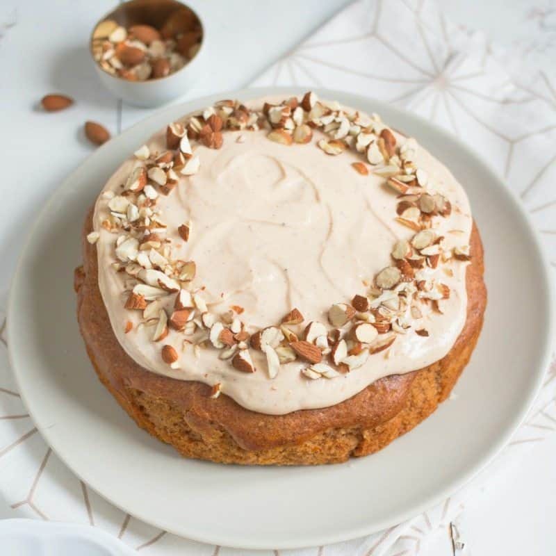 Butternut Squash Cake is easy to make, naturally sweetened, and light and flavorful!