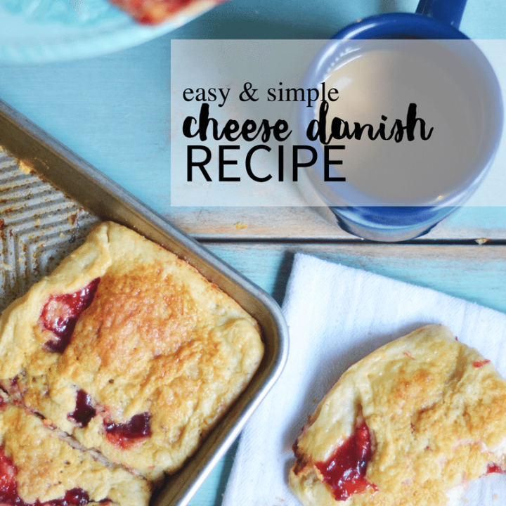 easy cheese danish recipe that you will make again and again. Buttery dough and creamy cheese filling.