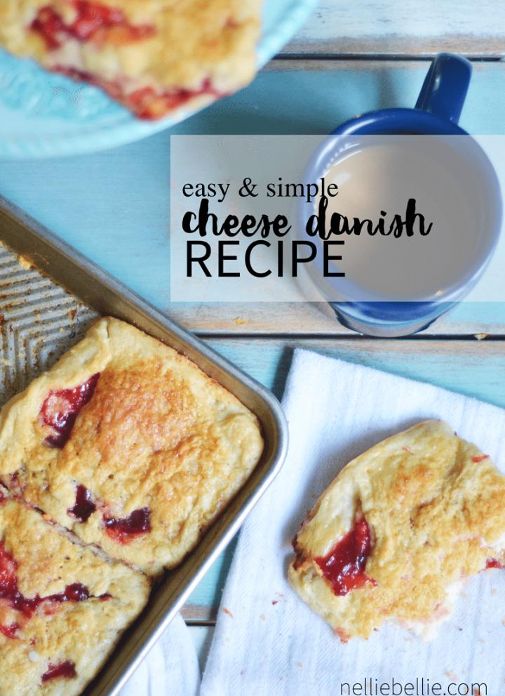 easy Danish pastry recipe