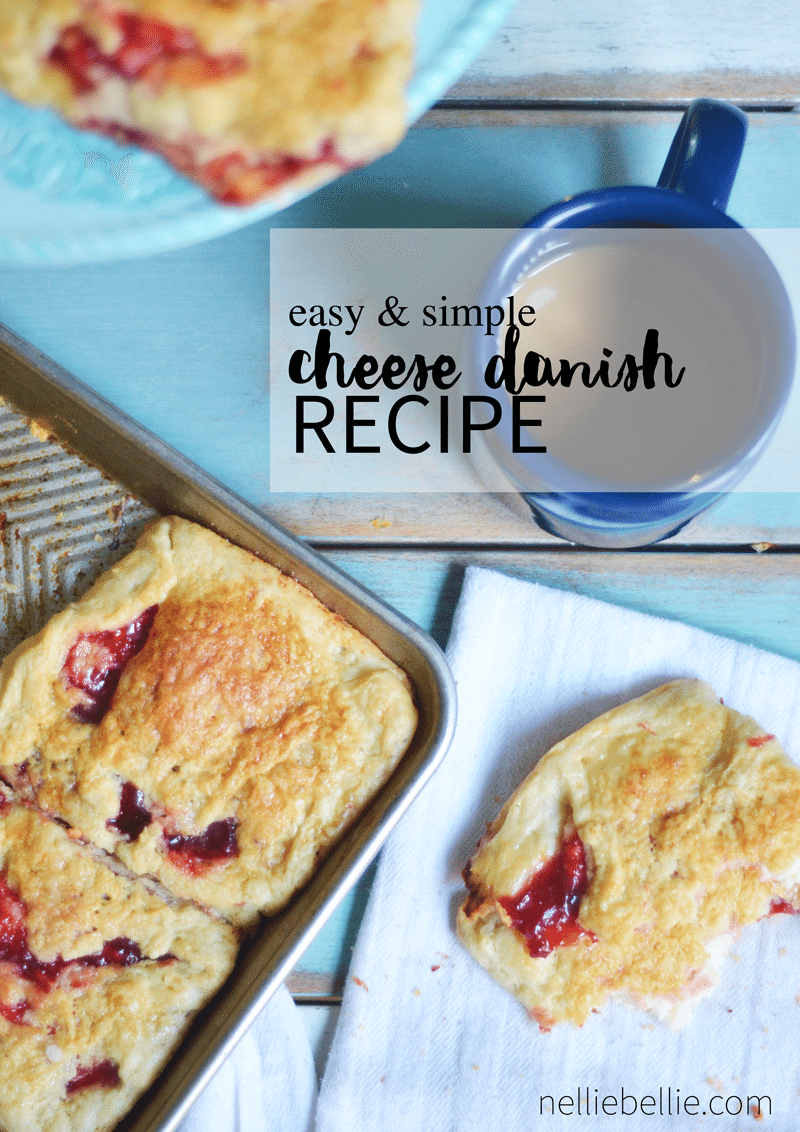 an easy danish pastry recipe!