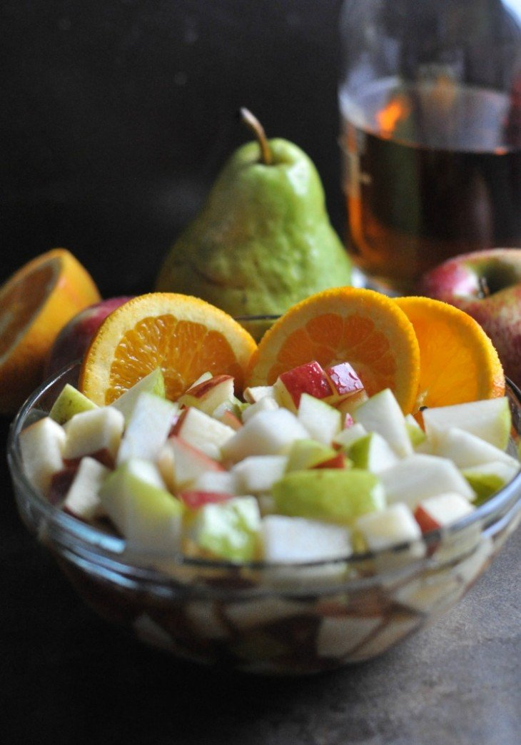 Bourbon Apple Cider Sangria