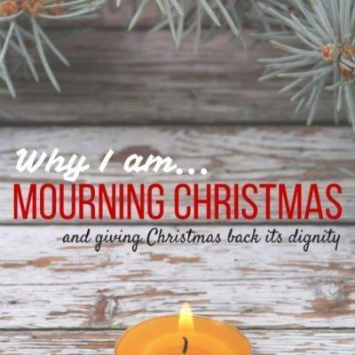 Mourning Christmas