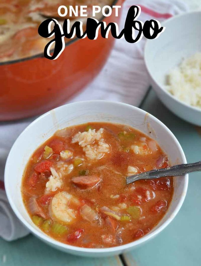 This one-pot gumbo is an easy crowd favorite that you'll be asked to make again and again.