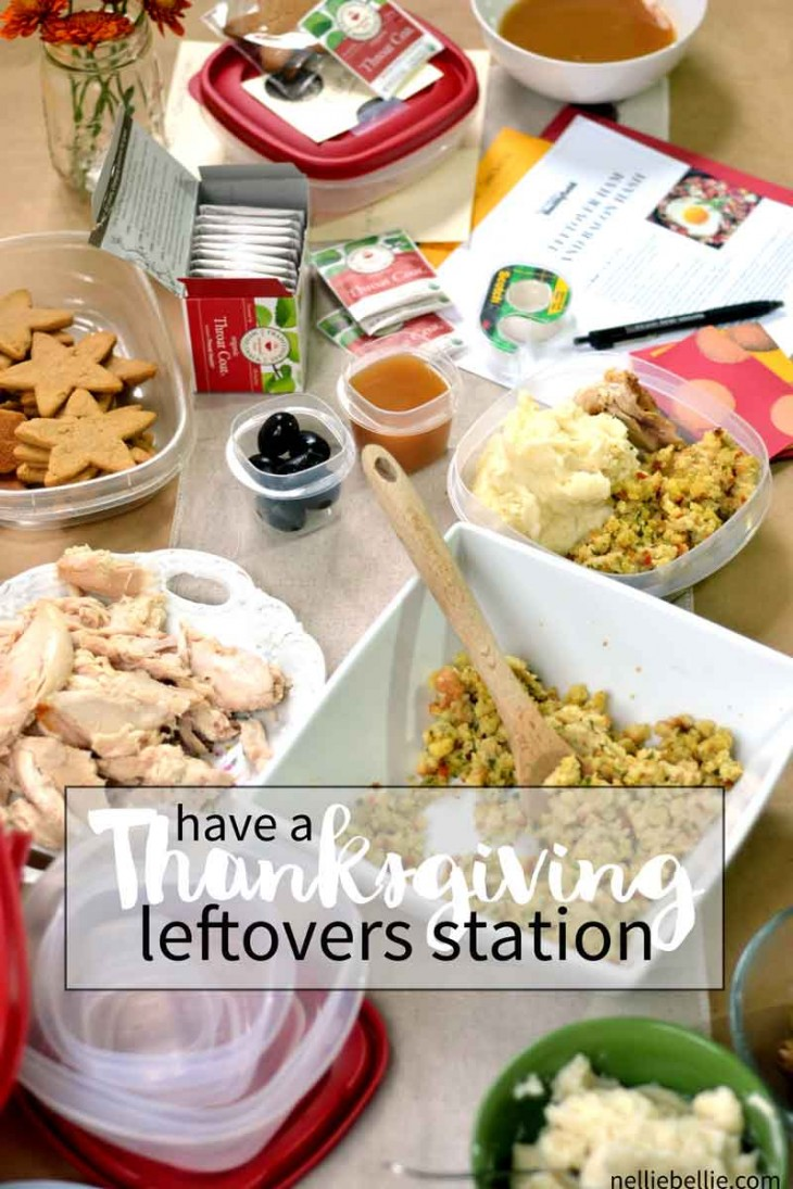 How to create a Thanksgiving Leftovers Station