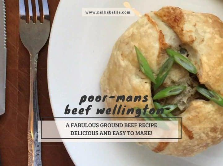 ground Beef Wellington recipe