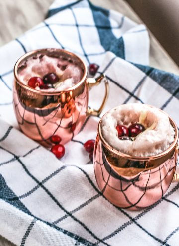 Cranberry Moscow Mule (Moscow Unicorn)