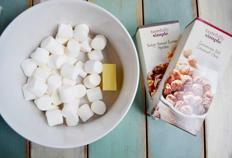 easy 3 ingredient popcorn balls recipe.